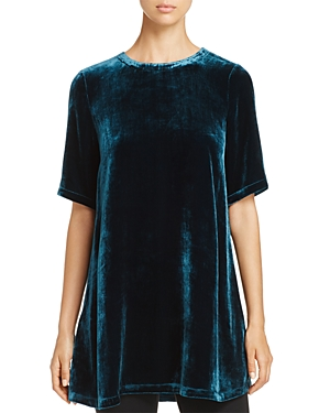 Eileen Fisher Velvet Tunic Top