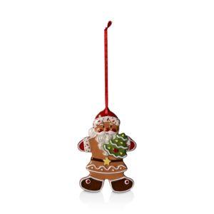 Villeroy & Boch Winter Bakery Delight Gingerbread Santa Ornament
