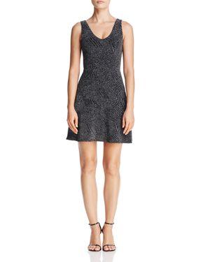 Aqua Metallic Fit-and-Flare Dress - 100% Exclusive 2732318