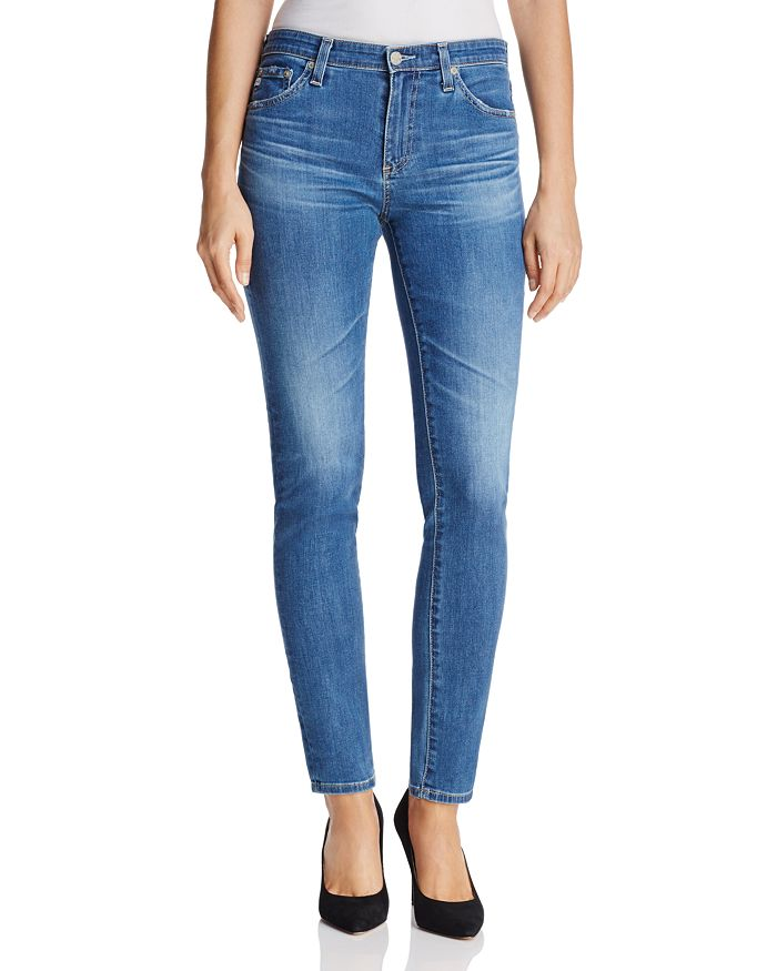 AG - Prima Mid-Rise Jeans in 14 Years Blue Nile - 100% Exclusive
