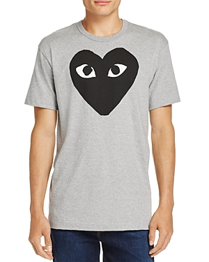 Comme Des Garcons Play Black Heart Crewneck Short Sleeve Tee