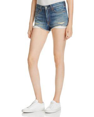 Margaux High Waist Denim Shorts, Rockarolla