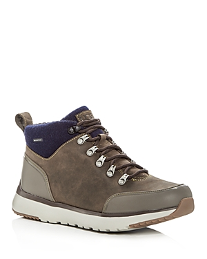 Ugg Men's Olivert Waterproof Nubuck Leather Cold Weather Hiking Boots