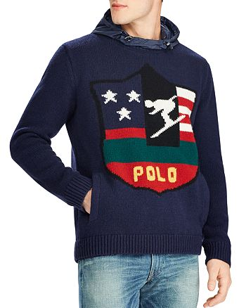 Polo Ralph Lauren Ski Logo Hooded Sweater   Bloomingdale s df004f7b309c