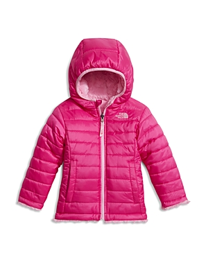 The North Face Girls' Reversible Hooded Puffer Coat - Little Kid