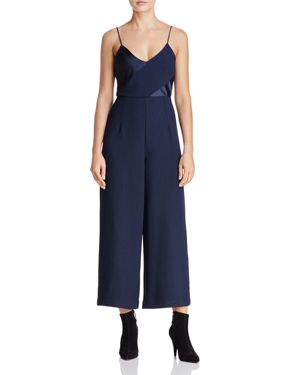C/Meo Collective Translation Cropped Wide-Leg Jumpsuit