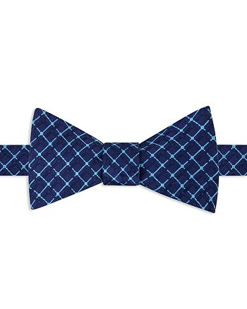 Ted Baker - York Grid Self-Tie Bow Tie