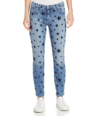 Current/Elliott The Stiletto Star Jeans in Flocked Star