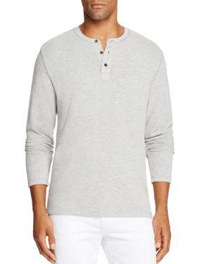 Surfsidesupply Long Sleeve Henley Shirt