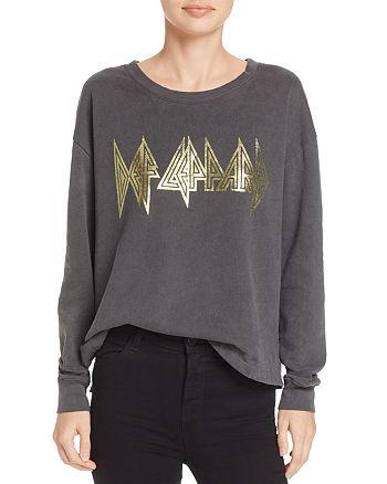 Daydreamer - Metallic Graphic Sweatshirt