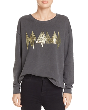 Daydreamer Metallic Graphic Sweatshirt