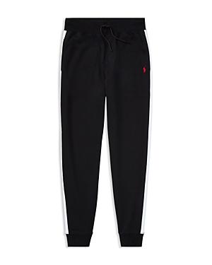 Ralph Lauren Childrenswear Boys' Athletic-Stripe Joggers - Big Kid
