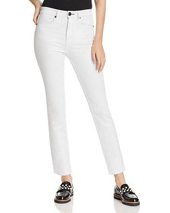 rag & bone/JEAN - Cigarette Jeans in White