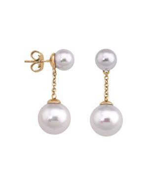 Majorica Simulated Pearl Round Drop Earrings