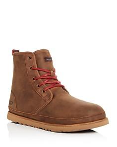 UGG® - Men's Harkley Waterproof Nubuck Leather Cold-Weather Boots
