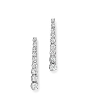 Bloomingdale's Diamond Linear Drop Earrings in 14K White Gold, 1.0 ct. t.w. - 100% Exclusive