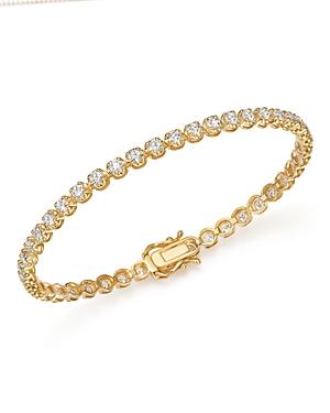 Bloomingdale's DIAMOND TENNIS BRACELET IN 14K YELLOW GOLD, 3.50 CT. T.W. - 100% EXCLUSIVE