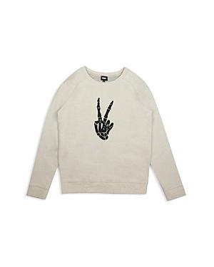 Hudson Boys Skeleton ThumbsUp Sweatshirt  Little Kid
