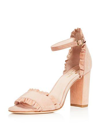 6d836cbf863f kate spade new york Women s Odele Suede High-Heel Sandals ...