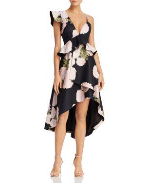 La Maison Talulah New Woman Floral Print Midi Dress
