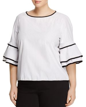 Love Ady Plus Tiered Bell Sleeve Top - 100% Exclusive