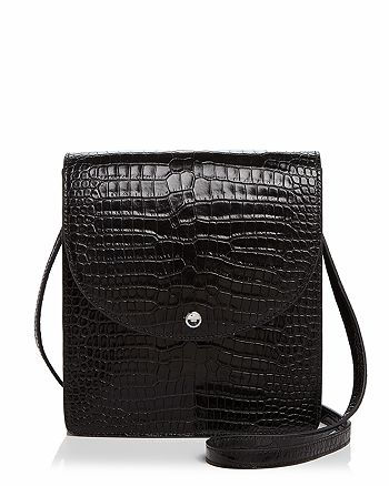 Elizabeth and James - Eloise North/South Leather Crossbody