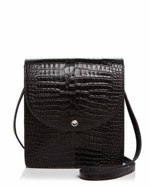 Elizabeth and James Eloise North/South Leather Crossbody 2757398