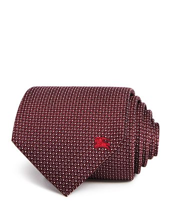 Burberry - Textured Geometric Dot Classic Tie