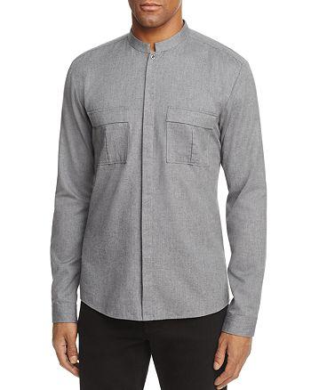HUGO - Emesh Long Sleeve Button-Down Shirt