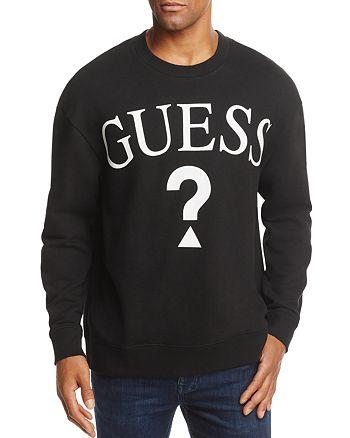 GUESS - Logo Crewneck Sweatshirt - 100% Exclusive
