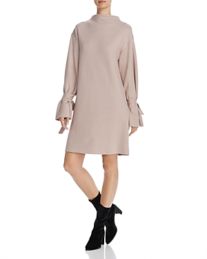 Joa Tie-Sleeve Sweater Dress