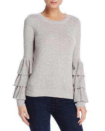 AQUA - Ruffled-Sleeve Sweater - 100% Exclusive