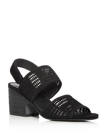 Eileen Fisher - Women's Finn Suede Mesh Sandals