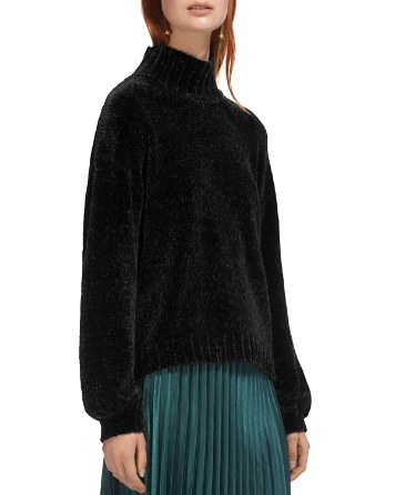 $Whistles Funnel Neck Chenille Sweater - Bloomingdale's