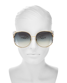 77470301f6d94 ... 63mm Gucci - Women s Oversized Round Sunglasses