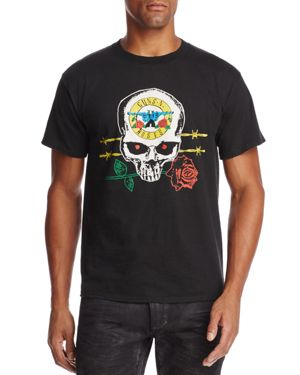 Bravado Guns N' Roses Skull Crewneck Short Sleeve Graphic Tee - 100% Exclusive