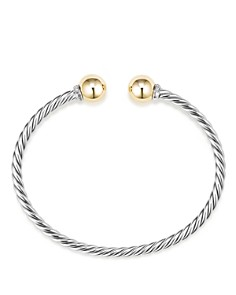 David Yurman - Solari Bracelet with Diamonds and 18K Gold