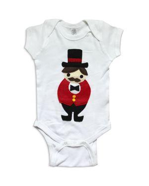 Mi Cielo x Story Unisex Greatest Showman Ringmaster Bodysuit - Baby