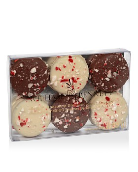Williams & Bennett - Chocolate Drenched Oreo Cookies with Peppermint Crunch