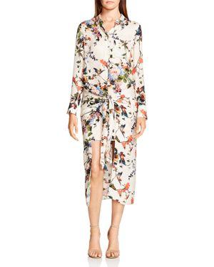 Haute Hippie Debutante Floral Silk Dress 2767433