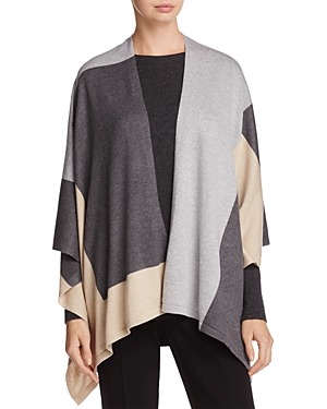 Eileen Fisher Color Block Serape at Bloomingdale's