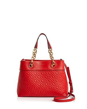 Tory Burch Leathers FLEMING SMALL LEATHER TOTE