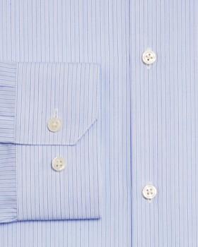 Theory - Double Stripe Regular Fit Dress Shirt