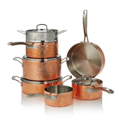 $Cuisinart Hammered Copper Triply 11-Piece Set - 100% Exclusive - Bloomingdale's