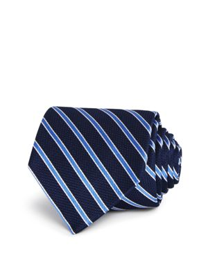 The Men's Store at Bloomingdale's Textured Stripe Classic Tie - 100% Exclusive thumbnail