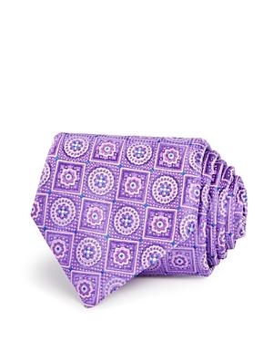 Canali Circle Square Medallion Classic Tie