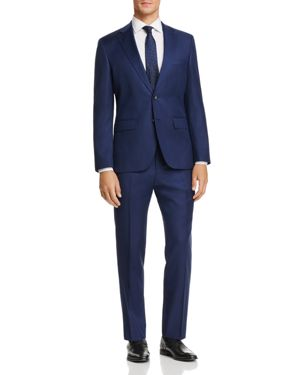 Boss Johnstons/Lenon Regular Fit Textured Solid Suit 2768039