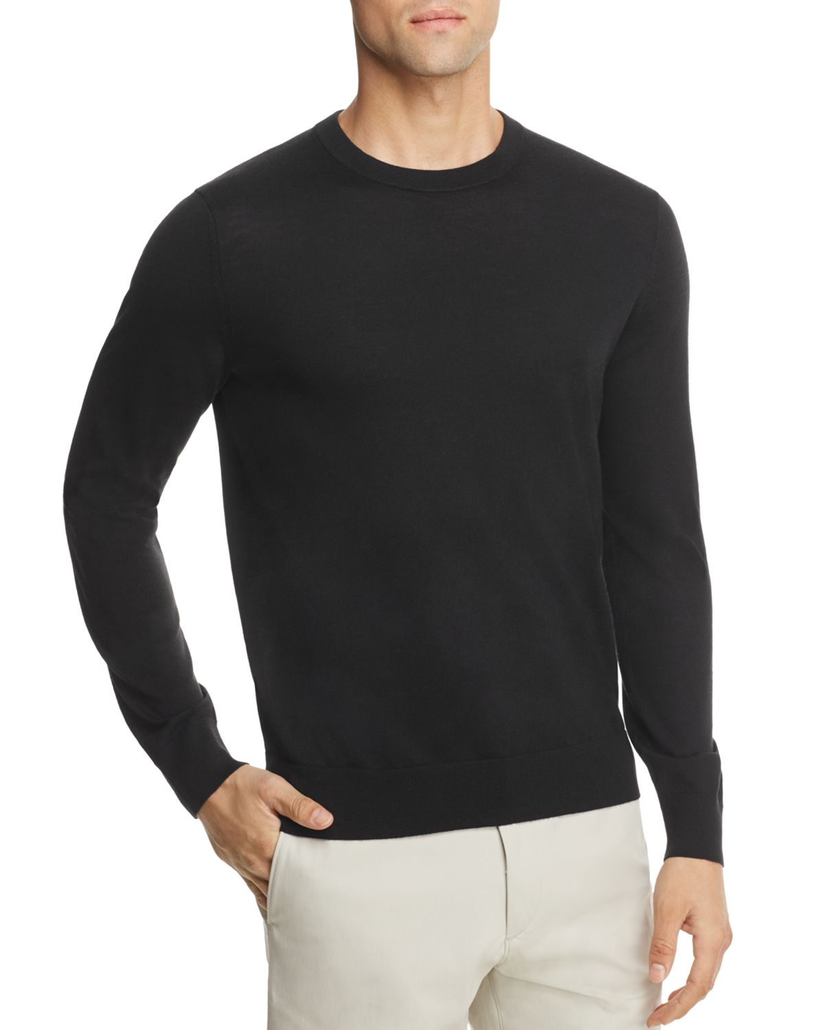 Riland New Sovereign Slim Fit Crewneck Sweater by Theory