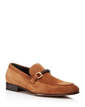 Salvatore Ferragamo Men's Gancini Braided Loafers