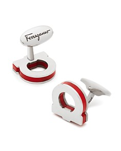 Salvatore Ferragamo Single Gancini Pop Color Cufflinks - Bloomingdale's_0